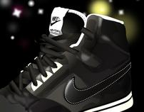 Nike Delta Force - Shoe Advertisement