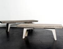 Corrugate Benches