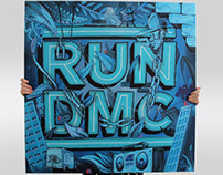 RUN DMC Canvas
