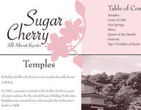 Sugar Cherry: Newsletter Design