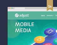 Adjust – adaptive website