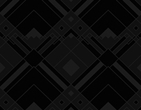 Black on Black Vector Pattern