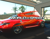 World of Speed garage UI