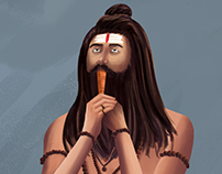 Enlightened Aghori.