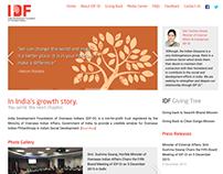 IDFOI - Indian Development Foundation of Overseas India