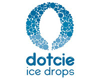 Dotcie ice drops motion design