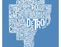 Detroit Posters