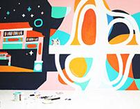 Ayala Malls Cloverleaf Mural