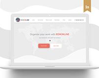 CRM web site concept