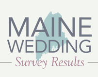 Maine Wedding Survey 2012 Infographic