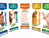 Animal Aid Packaging Design Media Support
