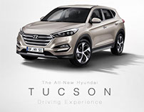 All-New Hyundai Tucson Test Drive Visual