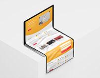 Website Branding and webdesign - Interaction Design