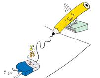 Pencil and Eraser #01