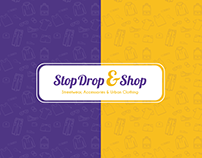 Stop Drop and Shop UI & Social Design