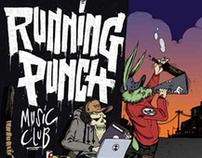 Running punch music club album art