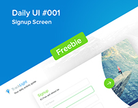 Signup Screen- Daily UI#001