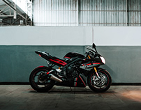 Triumph Daytona 675 | By Sourav Mishra