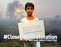 #CloseOpenDefecation