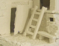 Bone china Houses