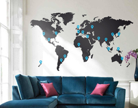 Large World Map £59.99