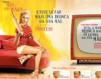 Hotsite Ponteio (Dia das Mães)
