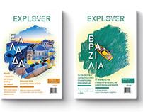 Magazine Cover Explover