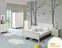 Birch Tree Wall Sticker £74.99