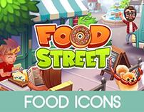 Food Street - Food Icons
