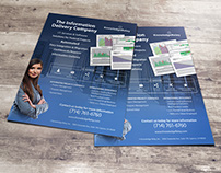 One Page Brochure for Knowledge Relay