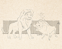The Lion King Sketch