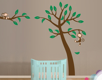 Jungle Tree with Monkeys £59.99