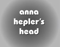 Anna Hepler's Head