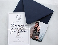 Annika + Grayson Save the Dates