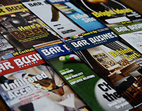 Bar Business Magazine Layout and Design