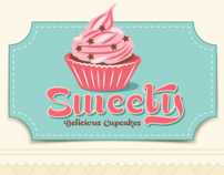 Sweety iPhone app GUI