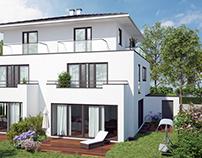 Semi-dettached house in Munich.
