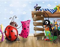 illustration for children's book Anthill for sale