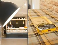 Diseño de interiores para Latxa | Tienda de quesos