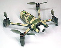 Parrot ANAFI-Droneskin Camouflage