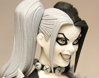 Statue of Amanda Connor's Harley Quinn