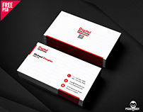 Simple Business Card PSD Template