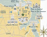 Map of Havana