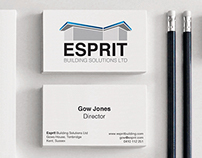 Esprit building logo design