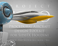 Procedural Aircraft Design Toolkit