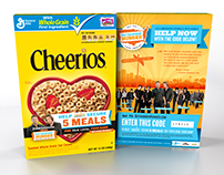 General Mills/Cheerios - Outnumber Hunger Campaign