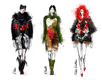 Fashion Illustrations/catwalk