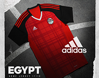Egypt National Team Jersey (Adidas)