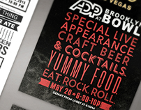 ADP Rock n' Bowl Invitation