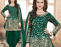 Attractive Colors of Patiala Suits By DesignersAndYou